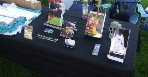 NEHW table at the Foxboro craft fair.