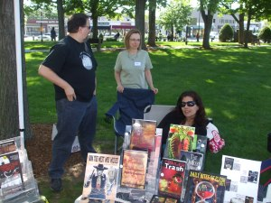 Authors Scott Goudsward, Morven Westfield, and Tracy L. Carbone.