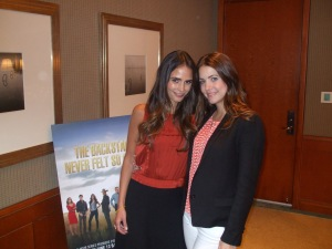 Dallas stars Jordana Brewster and Julie Gonzalo. Photo by Jason Harris.