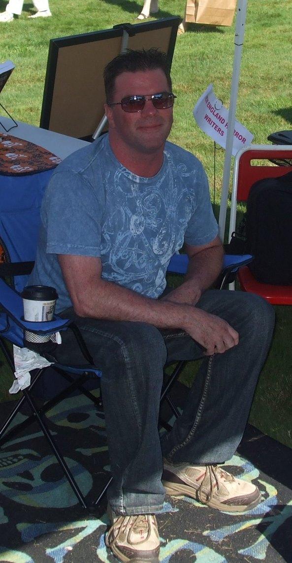 Author Rob Watts. Photo by Jason Harris.