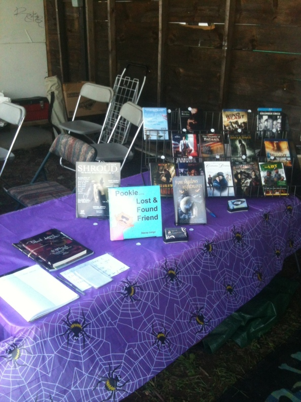 The NEHW booth at the Hebron Harvest Fair. Photo by Jason Harris.