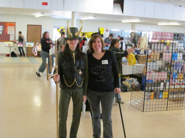 Loki and author Stacey Longo. Photo by Jason Harris.