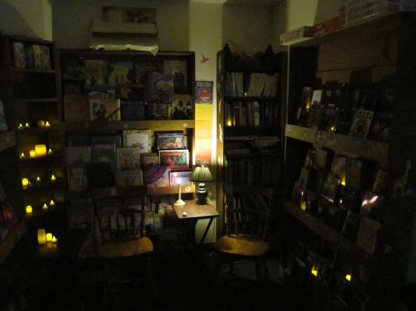 The event's reading room.