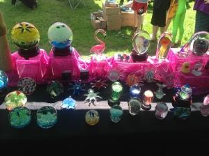 Glow in the Dark Glass items.