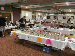 The Dealer and Art room at Necon.