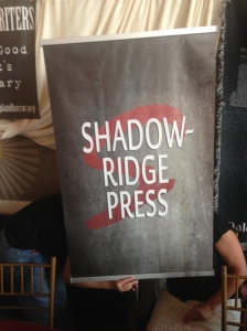The Shadowridge Press banner after Stacey Longo put it together for Tracy Carbone.
