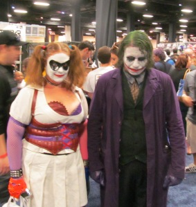 Harley Quinn and the Joker.