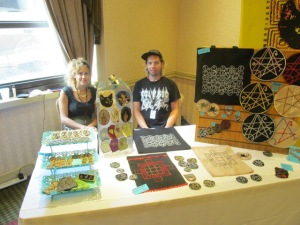 Sam Merritt and Mark Marine of Double Vision Embroidery.
