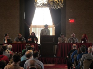 The Cinematic Lovecraft panel