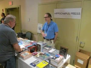 The Hippocampus Press table.