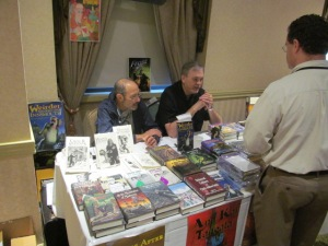 The Fedogan & Bremer Publishing table