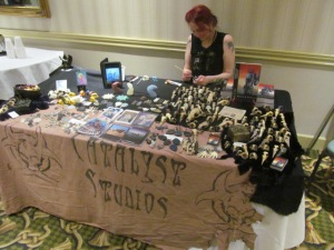The Catalyse Studios table