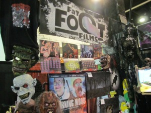 The Fat Foot Films booth.