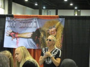 Musician and actor Dee Snider.