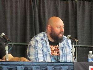 Author Joe Knetter at the Writer's Studio panel.