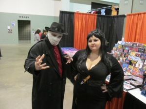 Dark Man and Elvira.