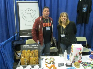 Authors Rob Watts and Stacey Longo
