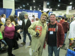 Barf with author Rob Watts