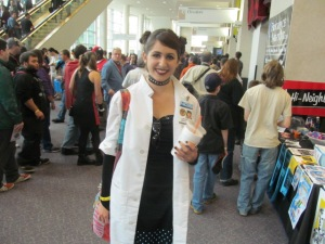Abby Sciuto of NCIS.