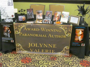 Paranormal author Jolynne Valerie.