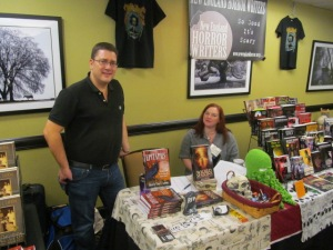 Authors Gordon Bean and Jennifer Allis Provost.