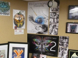 More artwork in the Art Show.