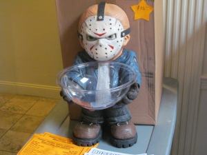 A Jason Vorhees' candy dish.