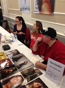 Eliza Dusku of Buffy the Vampire Slayer (center).
