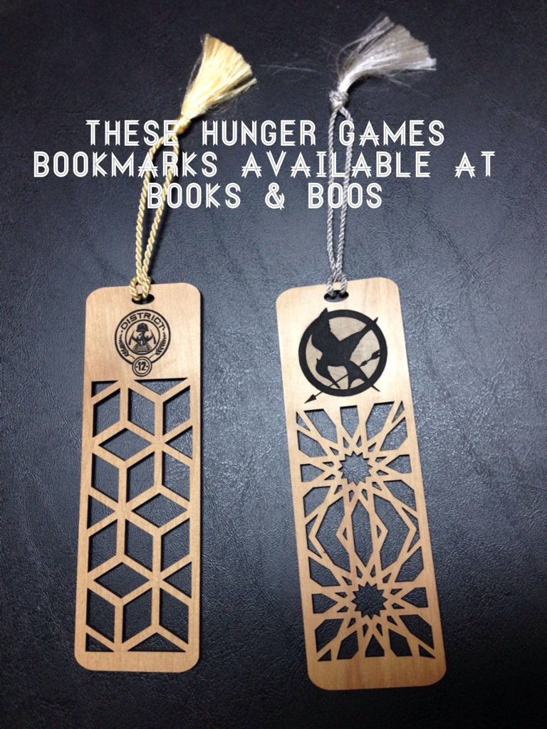 Hunger Games Bookmarks