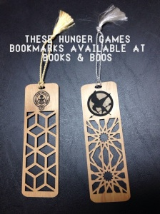 Hunger Games bookmarks.