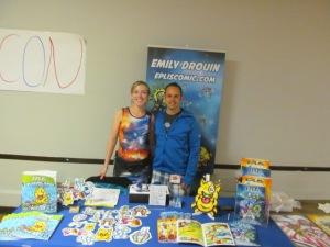 Emily and Jeremy Drouin of Eplis Comic.