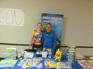 Emily and Jeremy Drouin of Eplis Comic.