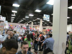 The crowds at Hartford Comic Con.