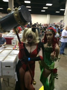 Harley Quinn and Poison Ivy.