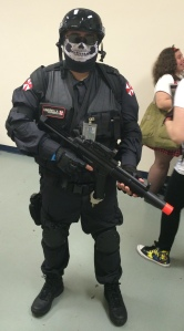 An Umbrella corporation soldier.