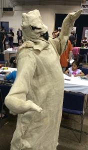Oogie Boogie from The Nightmare Before Christmas.