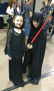 Maleficent and Anakin Skywalker