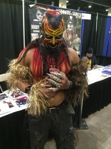 Martin Wright a.k.a WWE's The Boogeyman.