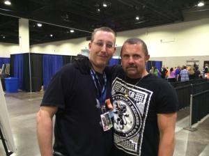 Me and Kane Hodder.