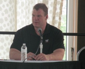 WWE Wrestler Kane a.k.a. Glenn Jacobs