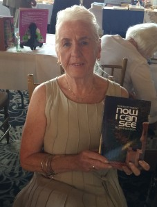 Author Norma D'Amico with her book, Norma D'Amico.