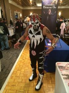 Wrestler Brandon Webb a.k.a. The Devils Reject