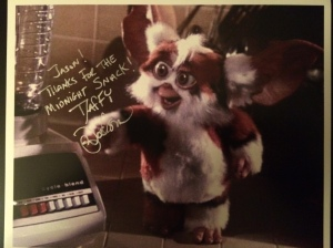 Mark Dodson's publicity still to me from Gremlins 2.