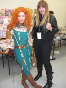 Brave's Princess Merida and Silk.