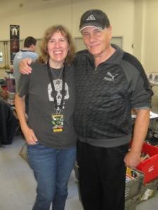Author Stacey Longo with William