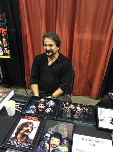 Actor/Director Tom Savini.