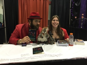 William L. Bozarth and Laura D. James, authors of Spooky Skwerl Stories.