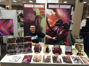 Comic book writer Brandon Barrows.