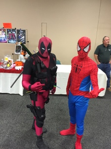 Deadpool and Spider-man.