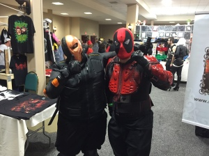 Deathstroke and Deadpool.